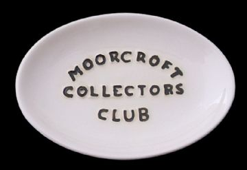 Moorcroft Pottery Collectors Club Display Sign Tray